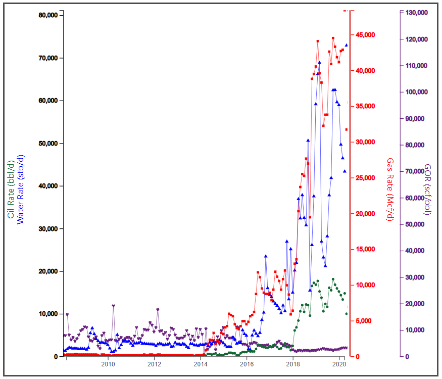 Figure 2. Gross Production Summary