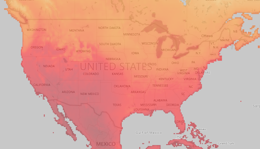 Advanced Irradiance data covering all areas of the U.S.