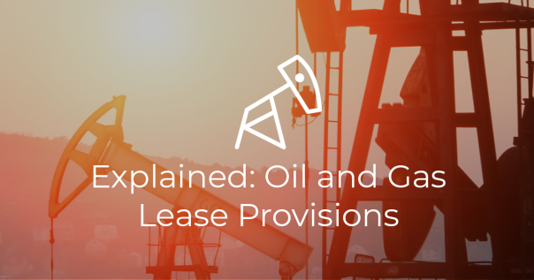 Oil and Gas Lease Provisions