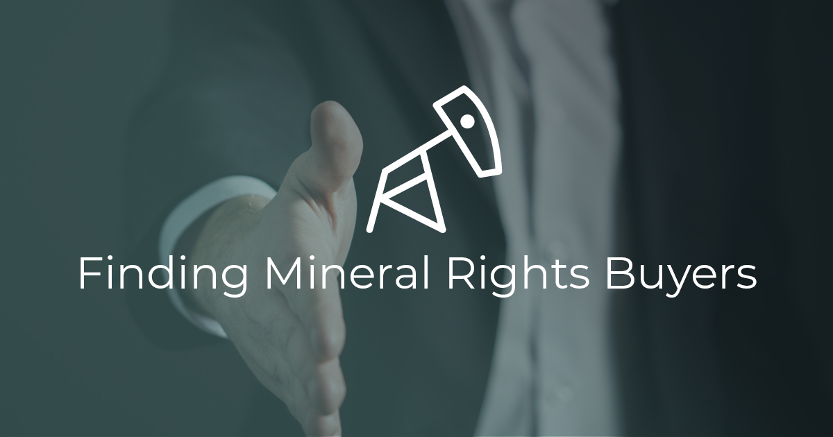 Mineral buyer shaking hands