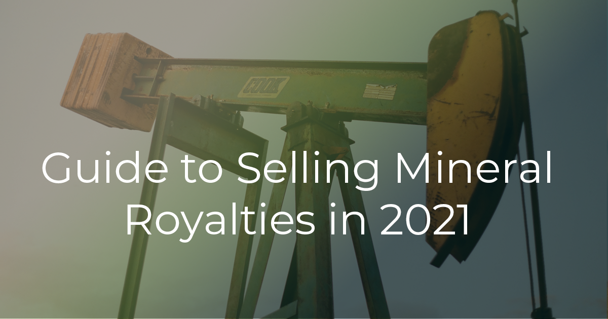 Sell oil and gas royalties pumpjack